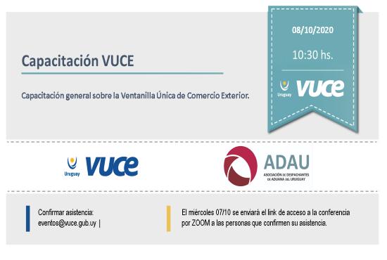 Capacitación VUCE - ADAU