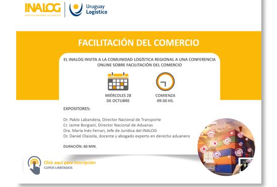 Conferencia online – Facilitación del comercio