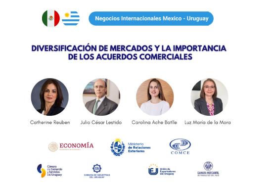 NEGOCIOS INTERNACIONALES MÉXICO - URUGUAY:  Diversificación de mercados y la importancia de los Acuerdos Comerciales