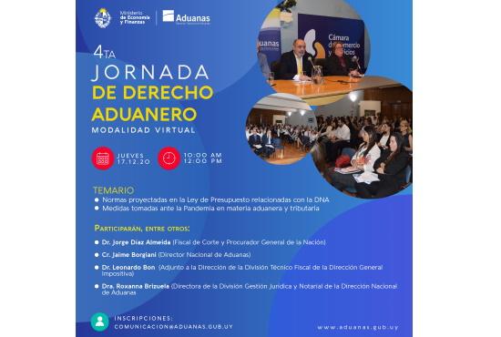 4° JORNADA DE DERECHO ADUANERO