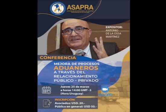 ASAPRA - CONFERENCIA INTERNACIONAL